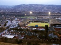 "Antiguo estadio del Huddersfield Town FC, ""Leeds Road"". Foto: Stuart Roy Clarke"