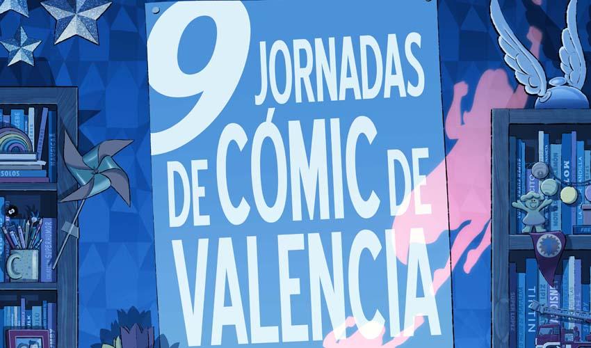 Llegan las IX Jornadas de Cómic de València