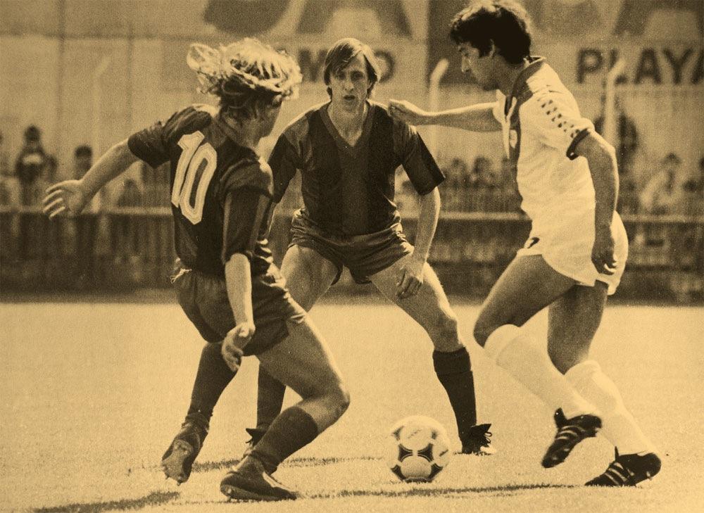Cuando Cruyff se hizo granota