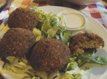 Falafel en Layali