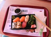 Un bocado rápido de sushi en Benimaclet