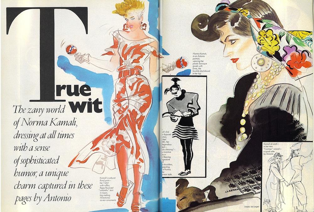 El Picasso de la ilustración de moda: Antonio López