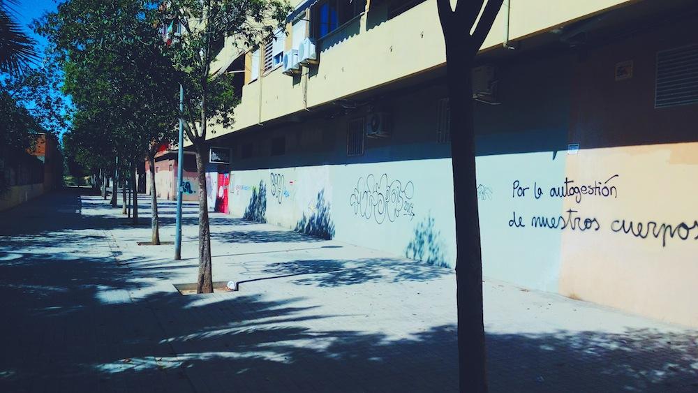Calle del Poeta Blas Otero.
