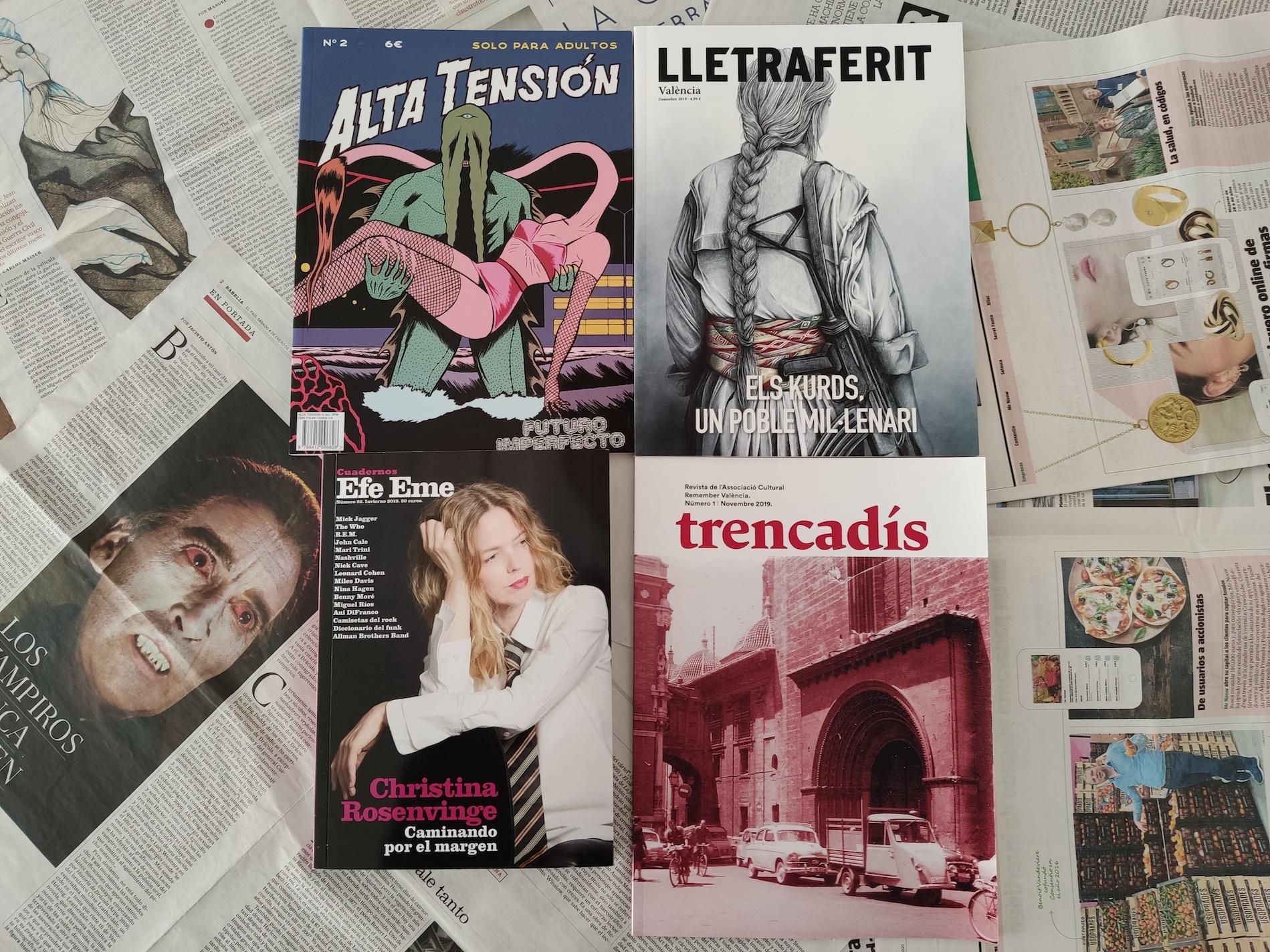 Las revistas valencianas en papel están vivas, ¡viva!