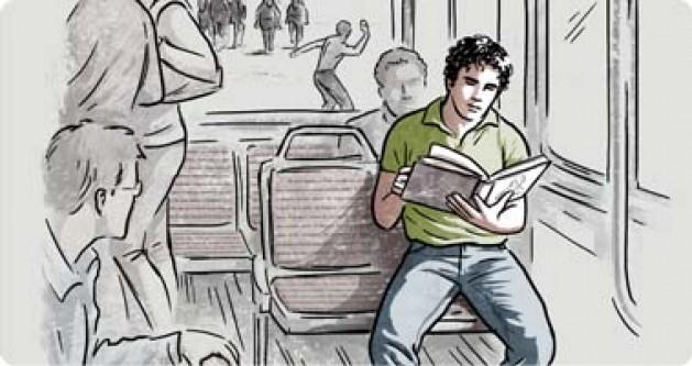 """""""Pasajero del final del día"""" de Rubens Figueiredo"""