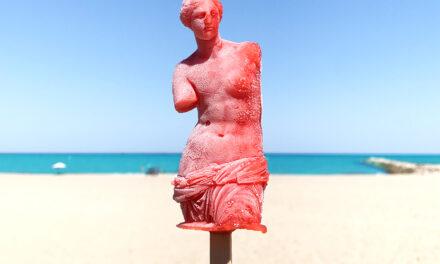 La Venuseta, el helado solidario salido del mar