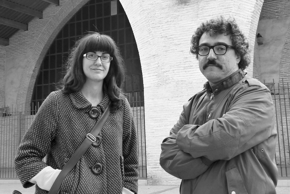 Ana Lorenz y Pau Martínez. Foto: Miguel Ángel Puerta