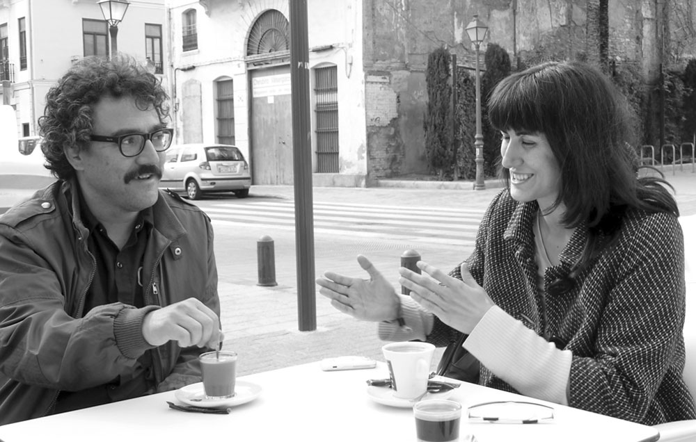Pau Martínez y Ana Lorenz. Foto: M.A. Puerta