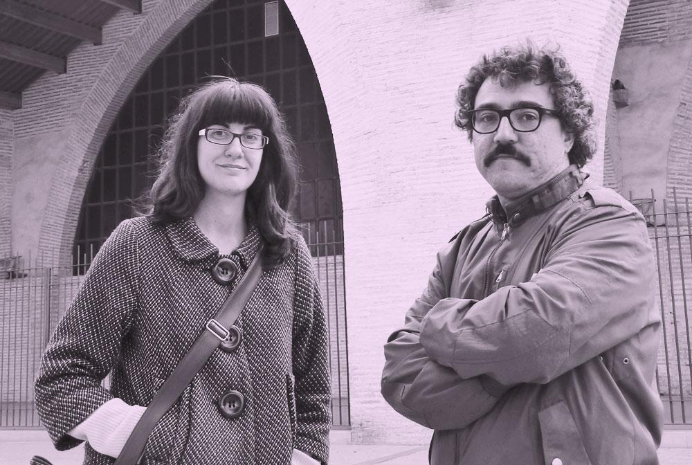 Ana Lorenz y Pau Martínez. Foto: M.A. Puerta